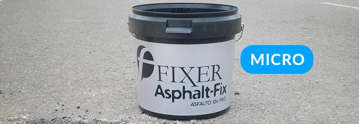 producto asphalt fix micro - fixer