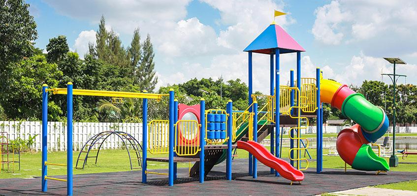 suelo de caucho para parques infantiles - fixer