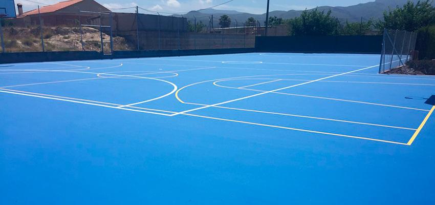 tratamiento reparacion rehabilitacion pista deportiva - fixer